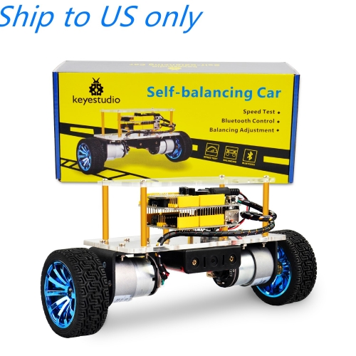 Free shipping to US!! keyestudio Self-balancing Car Kit For Arduino Robot