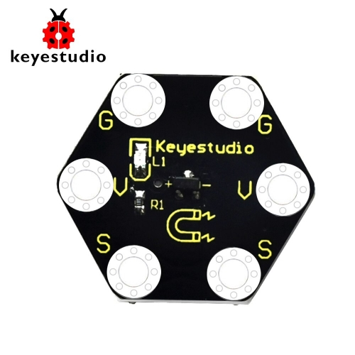 Keyestudio Micro bit Honeycomb Hall Magnetic Sensor for  BBC Micro Bit