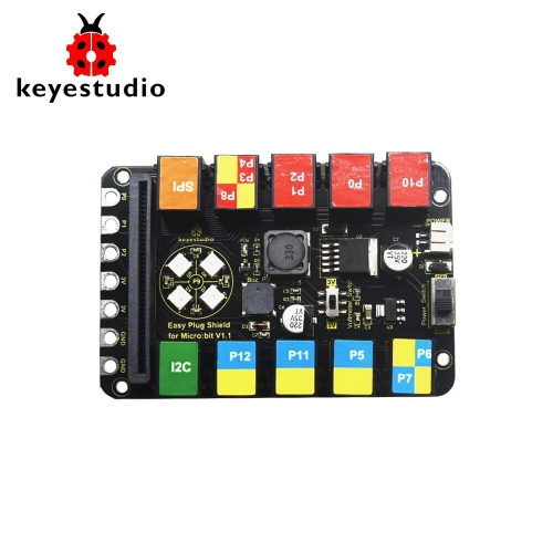 Keyestudio EASY Plug Shield V1.1 For Microbit / Arduino