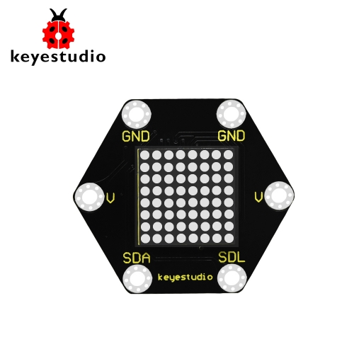 Keyestudio Honeycomb HT16K33  8*8 Dot Matrix Module for BBC Micro:bit