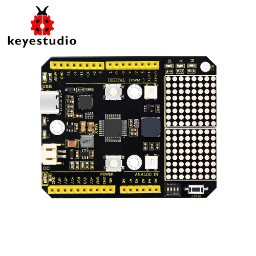 KEYESTUDIO  MAX  Development  Board With Type-C USB Cable Compatible Arduino UNO R3 10+ Projetcs
