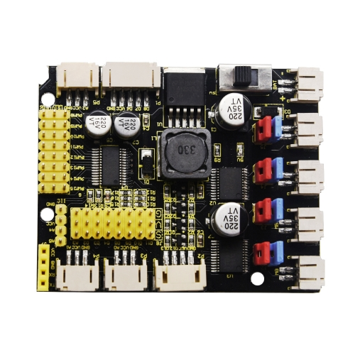 Keyestudio 4WD TB6612 Motor Driver Shield (Black and Eco-friendly)