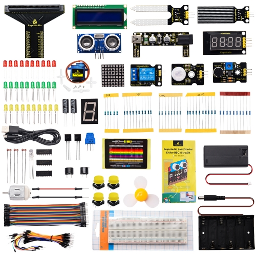 Micro:bit Basic Starter Kit (No micro bit board)