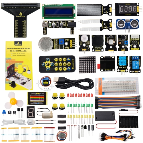 Complete Starter Kit For Micro:bit (No micro bit board)