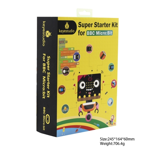 Super Starter Kit For Micro:bit (No micro bit board)