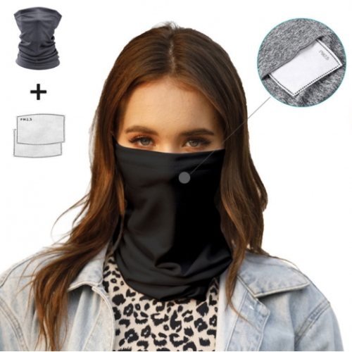 Breathable Bandana With PM2.5 Filters