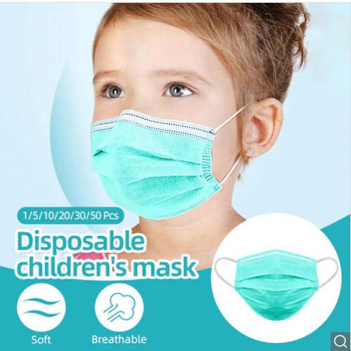 Child/Kids Face Mask Disposable Elastic Mouth Soft Breathable Soft Breathable Flu Hygiene Child Kids Face Mask