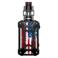 steel case the American flag black