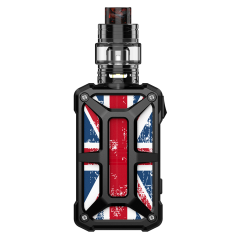 steel bone UK flag black