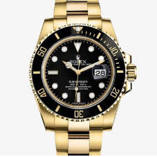 Rolex Submariner 116618LN 18K Full Thick Wrapped YG Case VRF 1:1 Black Dial Black Ceramic Bezel On 18K YG Bracelet A.2836 (Correct Thick & Material) R