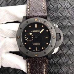 Panerai Luminor Submersible 1950 PAM508 VS V2 Ceramic Black Dial Swiss P9000