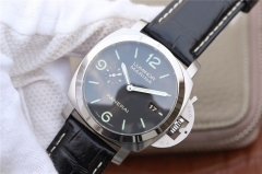 Mens Panerai Luminor Marina 1950 PAM312 VS V2 Stainless Steel Black Dial Swiss P9000 watches