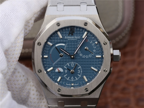 Audemars Piguet Royal Oak 26120ST.OO.1220ST.02 41mm Stainless Steel Case TWA 1:1 Best Edition Blue Textured Dial on Stainless Steel Bracelet 2329