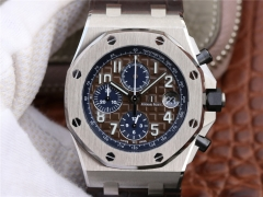 Audemars Piguet Royal Oak Offshore Chronograph 2018 SIHH 26470 JF V2 Stainless Steel Chocolate Dial Swiss 3126 26470ST.OO.A099CR.01