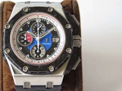 5A  Audemars Piguet Royal Oak Offshore Grand Prix 26290PO.OO.A001VE.01 JF V2 Stainless Steel Blue Dial Swiss 3126