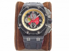 Audemars Piguet Royal Oak Offshore Grand Prix 26290IO.OO.A001VE.01 JF V2 Forged Carbon Red Dial Swiss 3126 26290IO.OO.A001VE.01