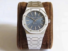 Audemars Piguet Royal Oak 15450 JF factory   Stainless Steel Blue Dial Swiss 3120