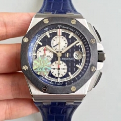 Audemars Piguet Royal Oak Offshore 26401PO.OO.A018CR.01 JF factory V2 Stainless Steel Blue Dial Swiss 3126