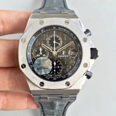 Audemars Piguet Royal Oak Offshore Chronograph 26470ST.OO.A104CR.01 JF factory V2 Stainless Steel Black Dial Swiss 3126