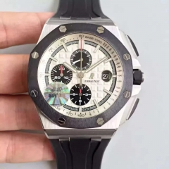 Audemars Piguet Royal Oak Offshore 26400SO.OO.A002CA.01 JF factory V2 Stainless Steel White Dial Swiss 3126