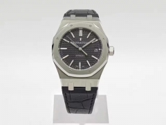 Audemars Piguet Royal Oak 15450 JF Factory  Stainless Steel Black Dial Swiss 3120