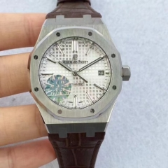 Audemars Piguet Royal Oak 15450 JF Factory  Stainless Steel Silver Dial Swiss 3120