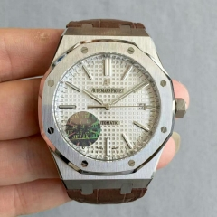 Audemars Piguet Royal Oak 15450 JF Stainless Steel Silver Dial Swiss 3120 JH JF factory