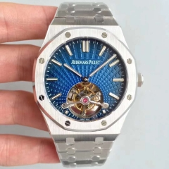 Audemars Piguet Royal Oak Tourbillon Extra Thin 26522OR.OO.120OR. R8 Stainless Steel Blue Dial Swiss 2924
