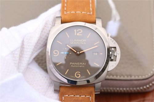 Panerai Luminor Marina 1950 PAM1351 ZF Factory Titanium Brown Dial Swiss P9010