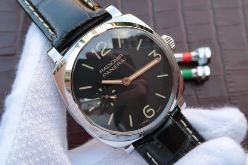 Panerai Radiomir 1940 PAM512 P  XF Factory  V6F 1:1 Best Edition on Black Leather Strap P.999