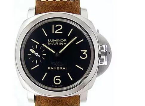 "Panerai Luminor PAM417 M ""New York"" Edition Stainless Steel V6F Best Edition Black Dial on Brown Asso Strap P5000"
