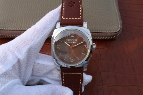 Panerai Radiomir 1940 3 Days Acciaio PAM662 SF Factory SF  Stainless Steel Brown Dial Swiss P3000