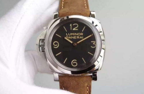Panerai Luminor 1950 PAM 557 XF Factory  Stainless Steel Black Dial Swiss P3000