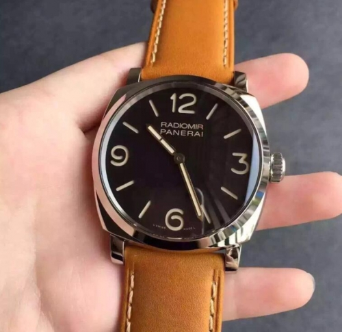 "Panerai Radiomir 1940 PAM 622 Q ""Tribute to Paneristi Russia"" V6F Best Edition on Brown Leather Strap A6497"