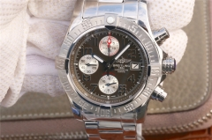 Breitling Avenger II Automatic Chronograph A1338111/BC33SS GF Factory  Stainless Steel Brown  Dial Swiss 7750