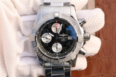 Breitling Avenger II Automatic Chronograph A1338111/BC33SS GF Factory  Stainless Steel Black Dial Swiss 7750