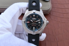 Breitling Avenger II Seawolf A1733110/F563/153S/A20DSA.2 GF Factory   Stainless Steel Black Dial Swiss 2836