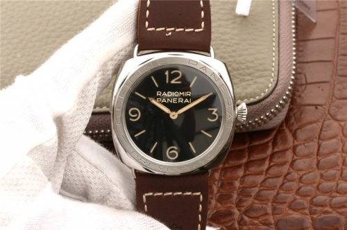 Panerai Radiomir 3 Days Acciaio Brevettato PAM687 zf Factory Stainless Steel black Dial Swiss P3000
