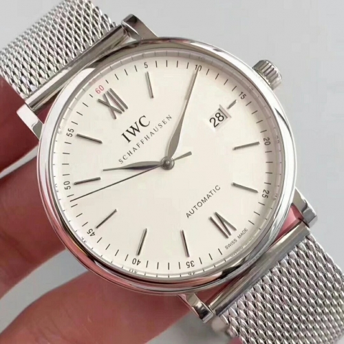 IWC Portofino Automatic IW356505 MK Factory MK Stainless Steel White Dial Swiss 2892