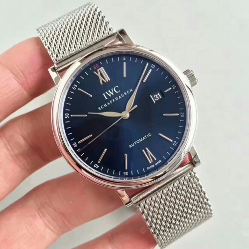 IWC Portofino Automatic IW356512 MK Factory MK Stainless Steel blue Dial Swiss 2892
