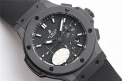 Hublot Big Bang Evolution 301.CI.1770.RX Full Ceramic Case Carbon Fiber Dial HBB Factory V6F  On Rubber Strap HUB4100