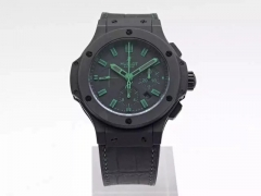 Hublot Big Bang All Black Green 301.CI.1190.GR.ABG11 HBB V6 Ceramic Black Dial Swiss HUB4100