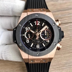 Hublot Big Bang Unico King Gold 411.OX.1180.RX Noob Factory Rose Gold Skeleton Dial Swiss HUB1242