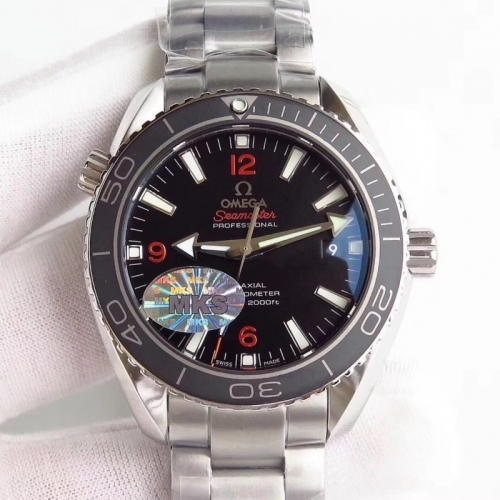 Omega Seamaster Planet Ocean 232.30.42.21.01.003 600m 42mm MKS Factory  Best Edition Ceramic Bezel Orange Marker Bracelet Miyota wiss 8500
