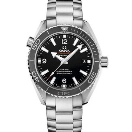 OmegaSeamaster Planet Ocean 232.30.42.21.01.001 600m 42mm MKS 1:1 Best Edition Black Dial Stainless Steel Bracelet 8500