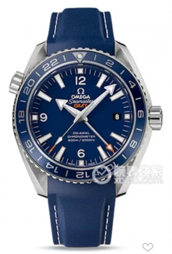 Omega Seamaster Planet Ocean 232.92.44.22.03.001 Planet 600m V6F 1:1 Best Edition GMT Blue Bezel On Blue Rubber 8605