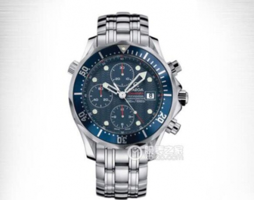 Omega Seamaster Diver 300m 212.30.44.50.01.001 Chronograph 44mm Diver ACF 1:1 Best Edition Blue Dial Blue Inner Bezel 7750