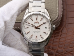 Omega Seamaster Aqua Terra 150M Master Co-Axial 231.13.42.21.02.003 KW Stainless Steel White Dial Swiss 8500