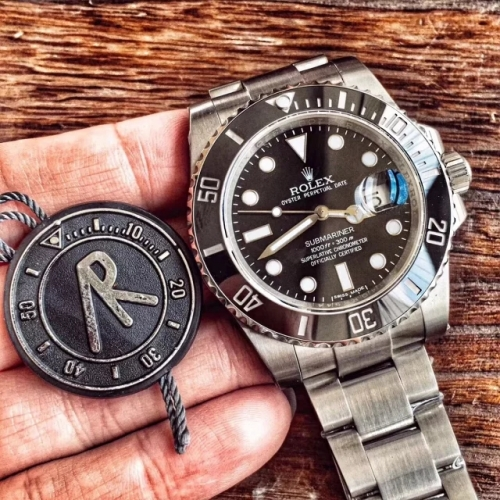 Rolex Submariner 116610 LN Black Ceramic ARF 1:1 Best Edition Stainless On Steel Bracelet Swiss 2824 Sel Perfection