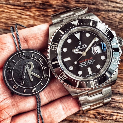Rolex Sea-Dweller 126600 43mm 2017 Baselworld 50th Anniversary Black Ceramic ARF V2 Best Edition 904L Case and Bracelet Swiss 2824